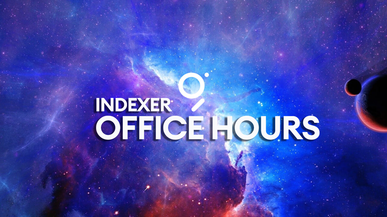 Indexer office hours
