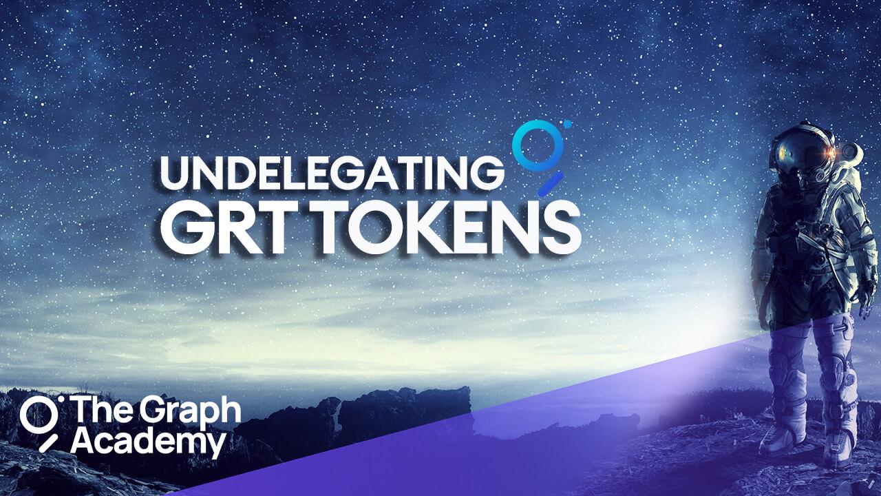 Undelegating-GRT-tokens