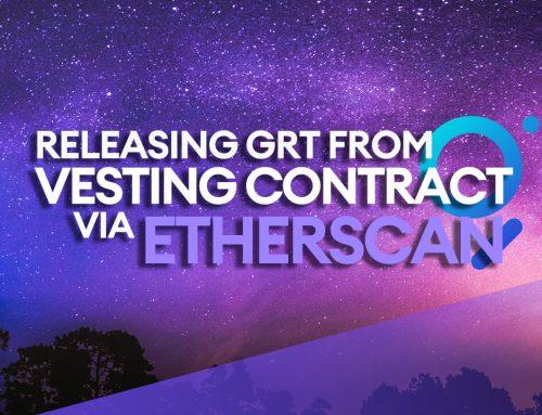 Releasing Unlocked GRT Tokens via Etherscan [Video Tutorial]